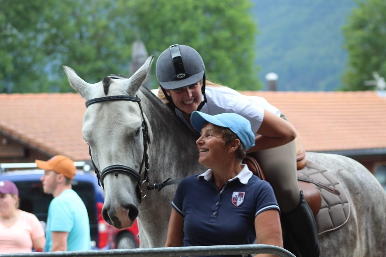 Emilie Huguelet et Christine Girardin